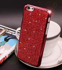 Bling Swarovski Element Crystal Diamond Red Soft case For iphone 6 Plus {y256