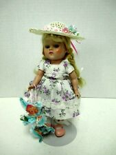 EASTER HAT  & ORNAMENT -FOR  8 IN VINTAGE GINNY  MUFFIE MADAME ALEXANDER DOLLS