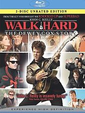 Walk Hard: The Dewey Cox Story (Blu-ray Disc, 2008, 2-Disc Set, Unrated) - NEW!