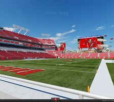 1-4 Carolina Panthers Tickets vs Tampa Bay Buccaneers Bucs 2017 Lower Level
