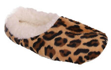 Happy Feet - Snooki's Leopard Bootie Slippers - Brown or Pink