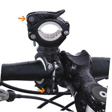 Cycling Bike Handlebar Mount Clamp Clip Holder for Flashlight LED Torch