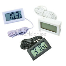 Digital LCD Thermometer for Fridge/Freezer/Aquarium/FISH TANK Temperature New