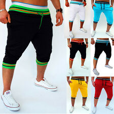 New Baggy Jogger Casual Trousers Shorts Mens Sports Pants Harem Training Dance