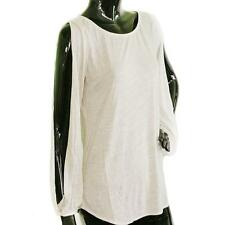 NWT Fluxus Blouse Top/T-Shirts STYLE# 111W1251 NATURAL