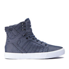 Men's Supra Skytop Chad Muska Canvas Blue/White Sizes 8-12 NIB 08002-427