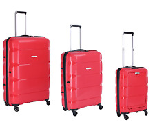 Firetrap Case Set Suitcase Trolley Case Hard case Luggage NEW Red
