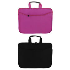 "13"" 14"" Soft Neoprene Laptop Netbook Notebook Zipper Sleeve Case Bag Cover Pouch"