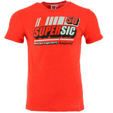Marco Simoncelli 58 Moto GP Super Sic Red T-shirt Official 2017