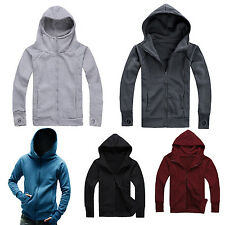 NEW Men's Casual Fashion Slim Fit Sexy Top Designed Hoodies Jackets Coats L4K4