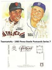 1983 Perez-Steele Hall of Fame (HOF) Postcards Series 7 ** Pick Your Team **