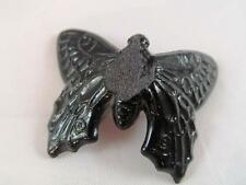 """Westmoreland Small Black Glass Butterfly - 2 3/8"""" x 2"""""""