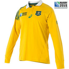 Wallabies 2015 RWC Traditional L/S Jersey - Ladies  Sizes 6 - 18