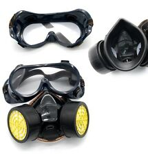New Dust Mask Face Respirator Chemical Gas Industrial Anti-Dust Spray Paint