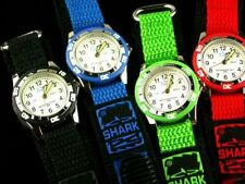 Kids Watch Time Teaching Dial TO and PAST on Dial 6 Band Colours - FREE POST