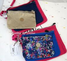 New w Tag Kipling IAKA L Purse/Cosmetic Pouch with wristlet set of 3