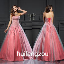 Pink Wedding Dresses Bridal Gowns A Line Formal Size 4 6 8 10 12 14 16 18 Plus