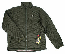 L, XL UNDER ARMOUR COLDGEAR REACTOR WATER RESISTANT QUILTED MENS PUFFER JACKET