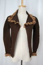 me by ISSEY MIYAKE Brown Pleated Light Jacket 106 0964