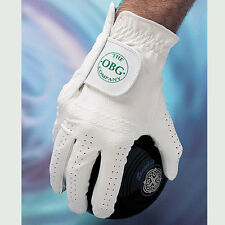 """OBG """"ALL WEATHER"""" SYNTHETIC BOWLS GLOVE - MENS LEFT HAND. UK Postage free."""