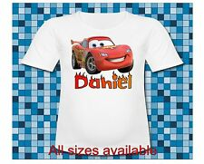Cars Mom of the Birthday Boy Lightning McQueen T Shirt All Sizes or Sayings