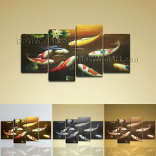 Large Feng Shui Painting Contemporary Wall Art Printed On Canvas Living Room