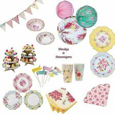 Talking Tables Truly Scrumptious Vintage Tableware Tea Party Accessories NEW IN