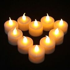 1 Pcs Led Lights Candles Flameless Tea Candle Lamp Light Electronic Candle Party