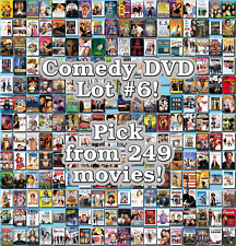 Comedy DVD Lot #6: 249 Movies to Pick From! Buy Multiple And Save!