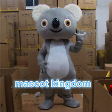 Cute Halloween Party Fancy Dress Adult Size Outfit Suit Koala Mascot Costume