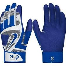 Nike MVP Elite Adult Baseball Batting Glove White Game Royal Blue GB0401 104