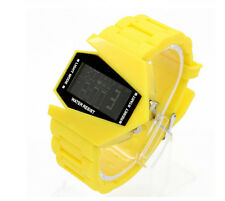 Multi-function Unisex Electronic Aircraft Wrist Lover Colorful LED Sport Watch B