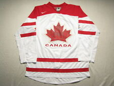 Team Canada 2010 Olympic Blank White Jersey