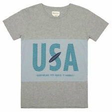 Brooklyn We Go Hard USA T-Shirt - Grey