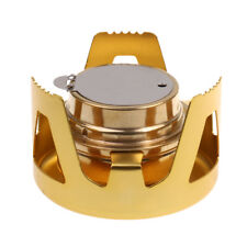 Portable Mini Alcohol Brass Stove Burner Furnace Outdoor Camping Cookware Equip
