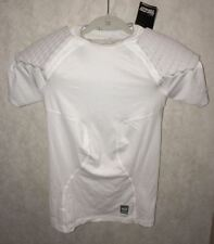Mens 2XL NIKE Pro Combat Hyperstrong Shoulder Padded Compression FOOTBALL Shirt