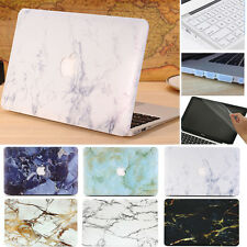 4in1 Marble Hard Case Keyboard Cover Screen Skin for Macbook Air Pro 11 12 13 15