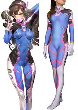 DVA Cosplay Costume Party Zentai Suit For Women Girl Lady Lycra Spandex Catsuit