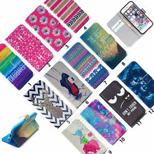 Fashion Flip Magnetic Wallet  PU Leather Cover Case Purse For iPhone 5 6 6S Plus