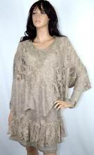 Pretty Angel Knit Ruffle Hem Dress and Matching Coverlet Top S-M-L-XL