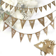 Wedding Banner Party Decoration Bunting Garland Festival Mr&Mrs Married Perfect