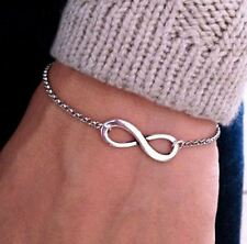 Fashion Simple Infinity Bracelets & Bangles Cheap Chain Jewelry For Women
