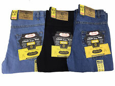 Mens Heavy Duty Regular Fit Jean Waist Size 30 32 34 36 38 40 42 44 46 48 50