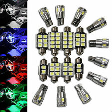 Audi Luxury Interior Lighting Set LED SMD White Blue Green Red Interior