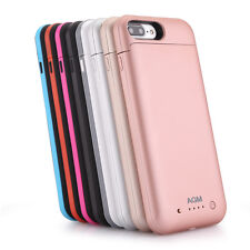 iPhone 7 Plus 7000mAh Power Pack External Battery Charger Charging Case Portable