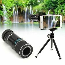 """12x Zoom Telescope Camera Lens with Case & Tripod Mount Holder for 4.7"""" iPhone 6"""