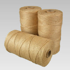 25m-250m Metre Natural Brown Shabby Style Rustic Twine String Shank Craft Jute
