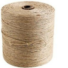 5m-500m  2ply-3ply Natural Brown Soft Jute Twine Sisal String Rustic Shabby Cord