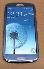 Samsung Galaxy S3 16GB Blue (Verizon) Cellular Phone Cracked Screen