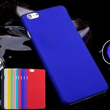 Ultra Thin PC Hard Back Color Cover Protective Case For iPhone 4 5 5C 6S 7 Plus